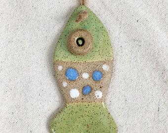 Ceramic Fish Ornament