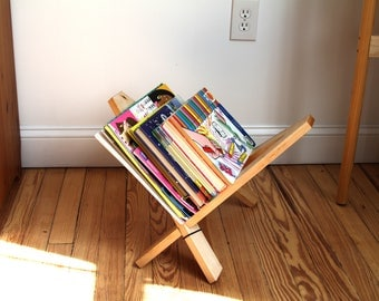 Magazine Rack that doubles as a Guitar Stand! Free Shipping!