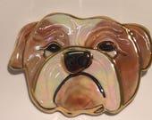 Bulldog Face Pin