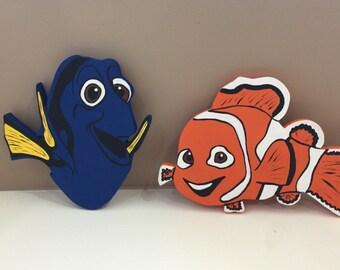Set of 2, Nemo and Dora