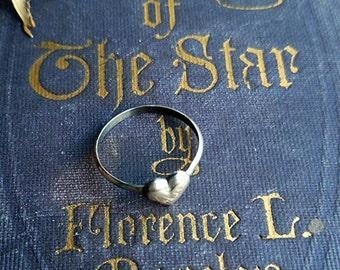 Valentine Heart Stacker Ring size 6.25