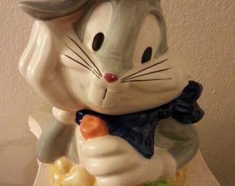 1997 Bugs Bunny Ceramic Cookie Jar