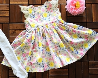 SALE: Beautiful Floral Party Dress