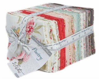 Poetry Fat Quarter Pack (40) by 3 Sisters for Moda