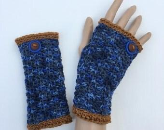 Fingerless Gloves/Wrist Warmers ~ Wool ~