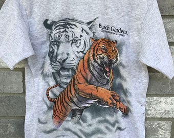 90s bush garden tiger extinction t shirt