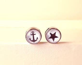 Anchor / star thrust bead set