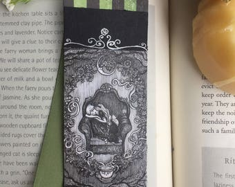 Sweet dreams tea bookmark