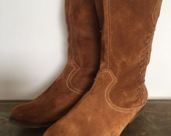 Women's Sporto Leather Boots size 6.5