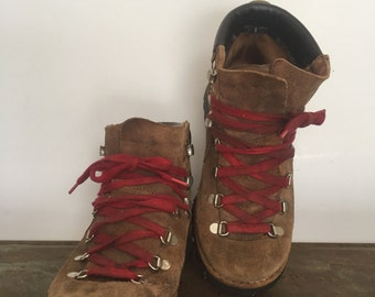 Vintage Hiking Boots Women's Size 5.5