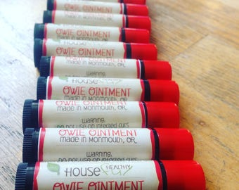 Owie Ointment (organic salve)