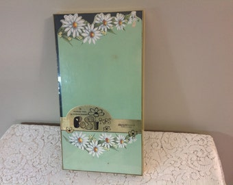 Vintage Stationary and Envelopes  Posi Pops By Artistic Greetings Inc Daisy Flower Stationary