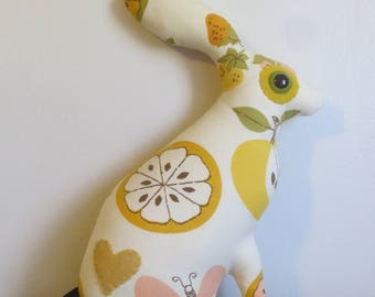 SALE OOAK Faye the Jack Rabbit Love Creature by Look What I Can Do Handmade in USA Bunny Love