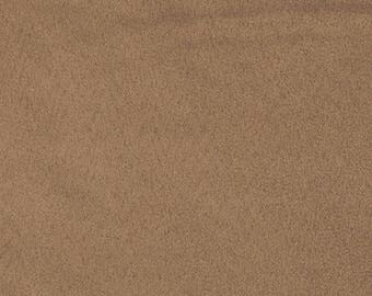 1.5yd Padded Costume Suede in Latte Brown