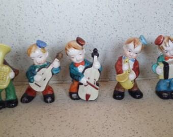 Japanese Band Figurines - Set of 5