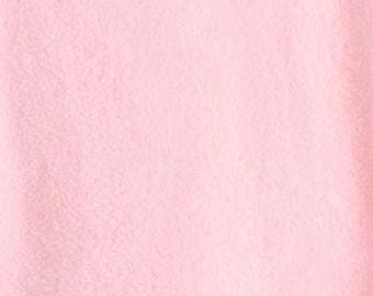 Pink Anti-Pill Fleece Fabric - One Yard - Fleece by the Yard
