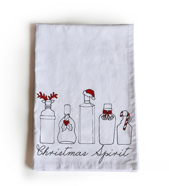 Funny Christmas Tea Towel Wholesale Business Gift Custom