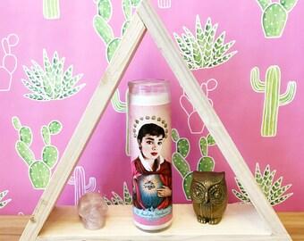 Audrey Hepburn // Pop Culture Prayer Candle