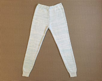 1970's, sweater pants, in baby blue, Women's size Small