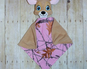 Boy or girl Deer Lovey security Blanket
