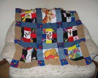 Hand Sewn Child's Quilt