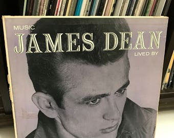 James Dean - Music James Dean Lived By vinyl record