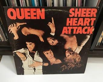 "Queen - ""Sheer Heart Attack"" vinyl record"