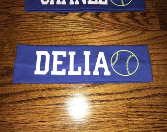 "Softball 2"" Girls/Ladies Headband"
