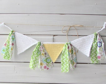 Photo Prop Banner Party Bunting Room Decoration High Chair Banner Birthday Party Banner