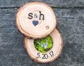 Personalized Wedding Gift | Wedding Ring Box | Engagement Ring Box