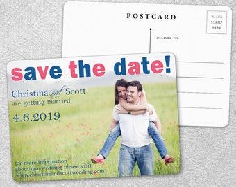 Big Sky - Postcard - Save-the-Date