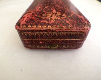 Old Vintage Antique Jewelry Box Circa 1930
