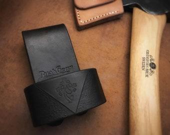Leather Axe belt loop / Holster v3