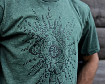 Expansion Organic T-shirt ~ Made in the USA.