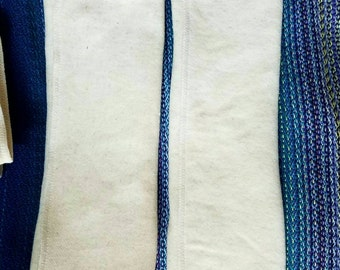 Trifold insert - two layers bamboo hemp fleece!