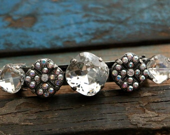 Swarovski Crystal Hair Barrette