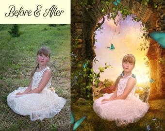 personalized childrens art photo manipulation