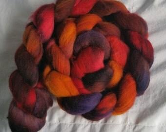 Hand Painted Merino Wool - Hearthfire 1