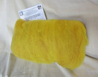 2.0 Oz. Hand Crafted Carded Batt of Alpaca and Merino Top