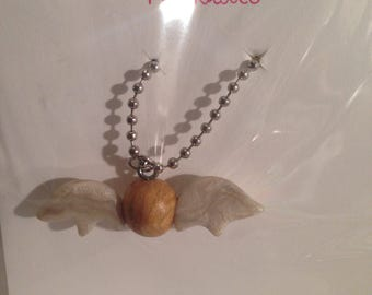 Harry Potter Golden Snitch Charm Necklace
