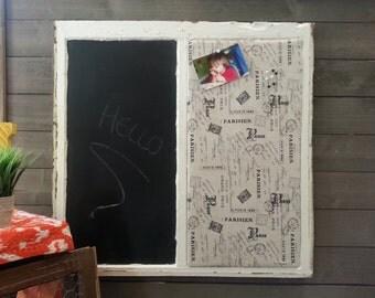 Window Pane Chalkboard / Corkboard
