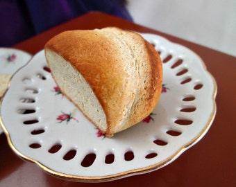 Miniature Doll Food Loaf of Bread, Comfort Food, Girl Doll Food, Food for Dolls, 18 inch doll food