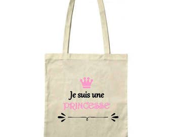 "Bag / Tote bag ""I'm a Princess"""