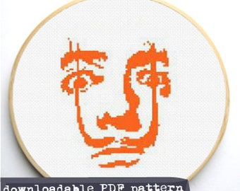 "Counted Cross Stitch Pattern ""Dali"""