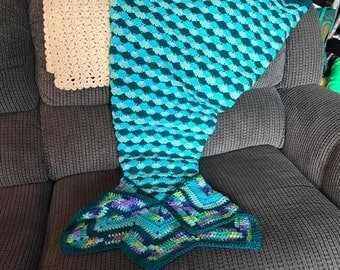 Fancy Mermaid Tail Crochet Pattern
