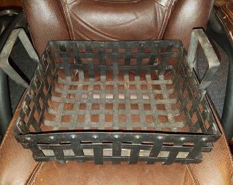 Cast Iron Basket W/Handle