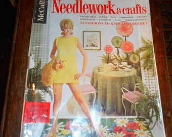 1968 McCall's Needlework and Crafts Magazine