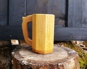 1404 - Sugar Pine body, Red Oak base and Handle