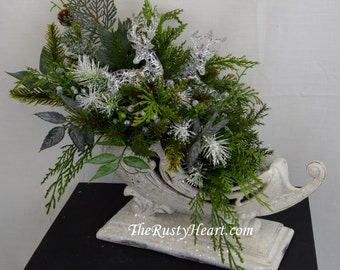 Christmas Centerpiece, Christmas Decor, Christmas Decorations, Holiday Centerpiece