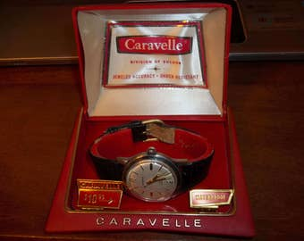 Mens Bulova Caravelle Mechanical Wind Watch - Caravelle Watch - Bulova Caravelle Watch - Mens Caravelle Watch